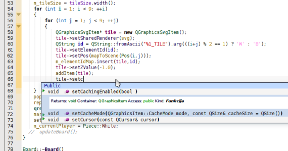 KDevelop full autocompletion with syntax coloring